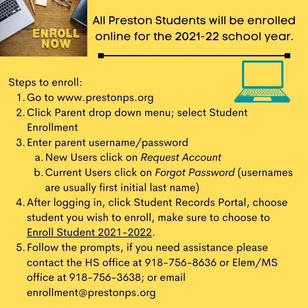 Enrollment Instructions
